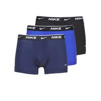 内衣  男士 拳击 Nike 耐克 EVERYDAY COTTON STRETCH 黑色 / 海蓝色 / 蓝色