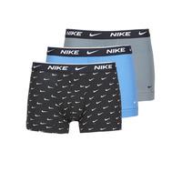 内衣  男士 拳击 Nike 耐克 EVERYDAY COTTON STRETCH 黑色 / 灰色 / 蓝色
