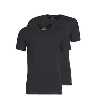 衣服 男士 短袖体恤 Nike 耐克 EVERYDAY COTTON STRETCH 黑色