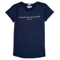 衣服 女孩 短袖体恤 Tommy Hilfiger KG0KG05242-C87 海蓝色