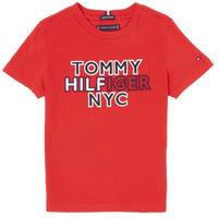 衣服 男孩 短袖体恤 Tommy Hilfiger KB0KB05848-XNL 红色