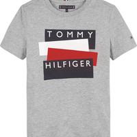 衣服 男孩 短袖体恤 Tommy Hilfiger KB0KB05849-P6U 灰色