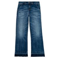 衣服 女孩 喇叭牛仔裤 Tommy Hilfiger KG0KG05199-1BJ 蓝色