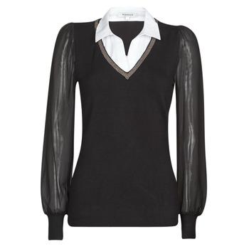 衣服 女士 羊毛衫 Morgan MVANI 黑色