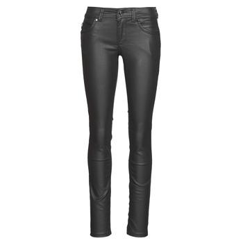 衣服 女士 紧身牛仔裤 Pepe jeans NEW BROOKE 黑色