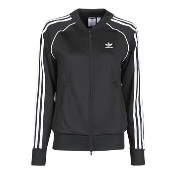 衣服 女士 运动款外套 Adidas Originals 阿迪达斯三叶草 SST TRACKTOP PB 黑色
