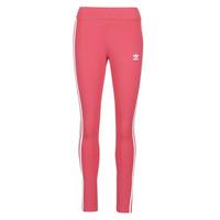 衣服 女士 紧身裤 Adidas Originals 阿迪达斯三叶草 3 STR TIGHT 玫瑰色