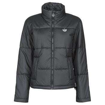 衣服 女士 羽绒服 Adidas Originals 阿迪达斯三叶草 SHORT PUFFER 黑色