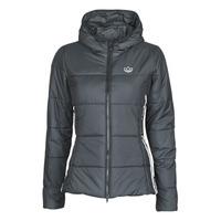 衣服 女士 羽绒服 Adidas Originals 阿迪达斯三叶草 SLIM JACKET 黑色