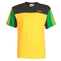 衣服 男士 短袖体恤 Adidas Originals 阿迪达斯三叶草 CLASSICS SS TEE 金色