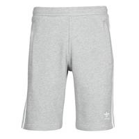 衣服 男士 短裤&百慕大短裤 Adidas Originals 阿迪达斯三叶草 3-STRIPE SHORT 灰色