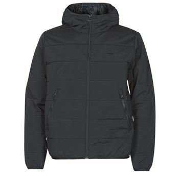 衣服 男士 羽绒服 Adidas Originals 阿迪达斯三叶草 LW ZT TRF HOODY 黑色