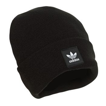 纺织配件 毛线帽 Adidas Originals 阿迪达斯三叶草 AC CUFF KNIT 黑色