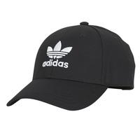 纺织配件 鸭舌帽 Adidas Originals 阿迪达斯三叶草 BASEB CLASS TRE 黑色
