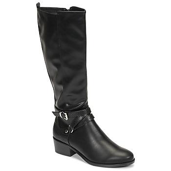 鞋子 女士 都市靴 Moony Mood NELLE 黑色