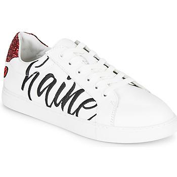 鞋子 女士 球鞋基本款 Bons baisers de Paname SIMONE AMOUR/HAINE 白色