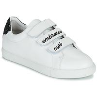 鞋子 女士 球鞋基本款 Bons baisers de Paname EDITH EMBRASSE MOI 白色