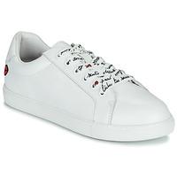 鞋子 女士 球鞋基本款 Bons baisers de Paname SIMONE IN LOVE LACETS 白色