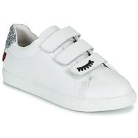 鞋子 女士 球鞋基本款 Bons baisers de Paname EDITH EYES 白色