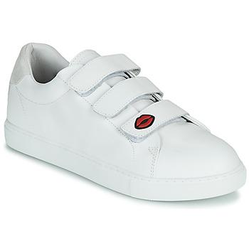 鞋子 女士 球鞋基本款 Bons baisers de Paname EDITH LEGENDE 白色