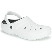 鞋子 洞洞鞋/圆头拖鞋 crocs 卡骆驰 CLASSIC LINED CLOG 白色