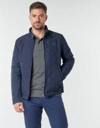 衣服 男士 夹克 Gant QUILTED WINDCHEATER 海蓝色