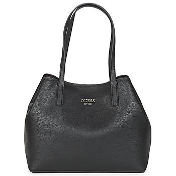包 女士 购物袋 Guess VIKKY TOTE 黑色