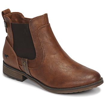 鞋子 女士 短筒靴 Mustang 1265501 棕色