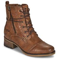 鞋子 女士 短筒靴 Mustang 1229508 棕色