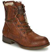 鞋子 女士 短筒靴 Mustang 1139630 棕色