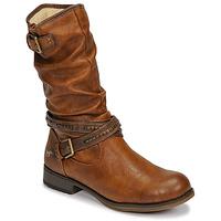 鞋子 女士 都市靴 Mustang 1139624 棕色