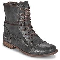 鞋子 女士 短筒靴 Mustang  灰色