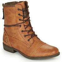 鞋子 女士 短筒靴 Mustang 1157508 驼色