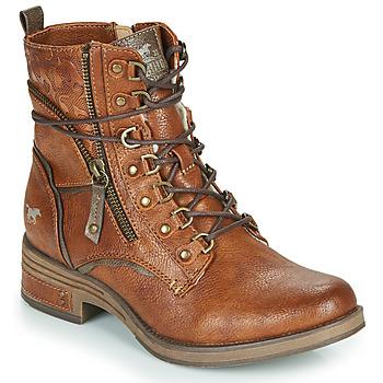 鞋子 女士 短筒靴 Mustang 1293601 棕色
