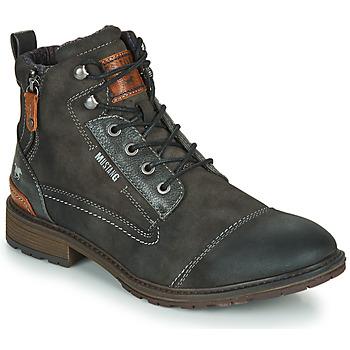 鞋子 男士 短筒靴 Mustang 4140504 灰色