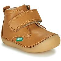 鞋子 儿童 短筒靴 Kickers SABIO 驼色
