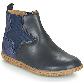 鞋子 女孩 短筒靴 Kickers VERMILLON 海蓝色