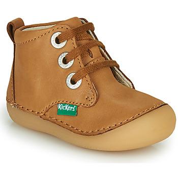 鞋子 儿童 短筒靴 Kickers SONIZA 驼色