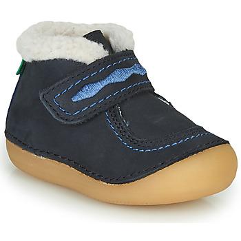 鞋子 女孩 短筒靴 Kickers SOETNIC 海蓝色
