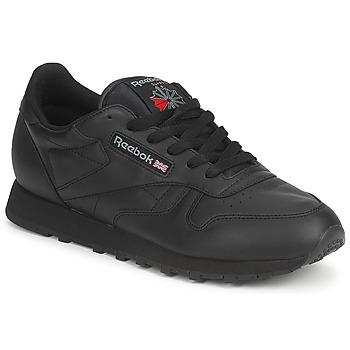 鞋子 球鞋基本款 Reebok Classic CLASSIC LEATHER 黑色