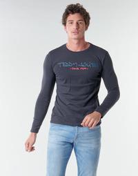 衣服 男士 长袖T恤 Teddy Smith 泰迪 史密斯 TICLASS BASIC M 海蓝色