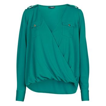 衣服 女士 女士上衣/罩衫 Marciano SALLY CREPE TOP 绿色