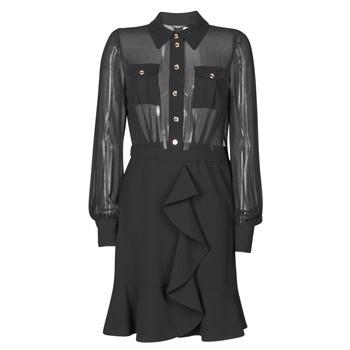 衣服 女士 短裙 Marciano CAROL SHORT DRESS 黑色