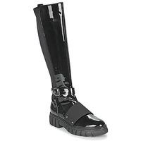 鞋子 女士 短筒靴 Philippe Morvan DARMY V1 VERNIS NOIR 黑色