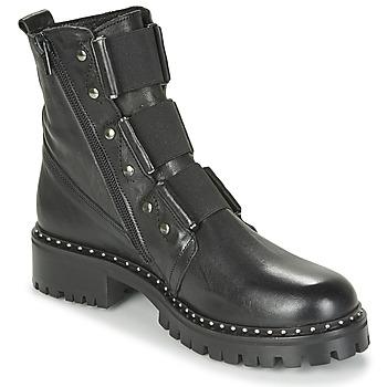 鞋子 女士 短筒靴 Philippe Morvan HARMY V1 ROMA NOIR 黑色