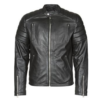 衣服 男士 皮夹克/ 人造皮革夹克 Schott LC FUEL 黑色