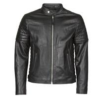 衣服 男士 皮夹克/ 人造皮革夹克 Schott LCJOE 黑色