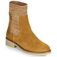鞋子 女士 短筒靴 Bensimon BOOTS CHAUSSETTE 棕色