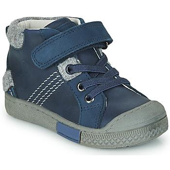 鞋子 男孩 高帮鞋 Mod'8 HERY 海蓝色