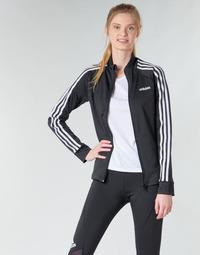 衣服 女士 运动款外套 adidas Performance 阿迪达斯运动训练 W D2M 3S TT 黑色